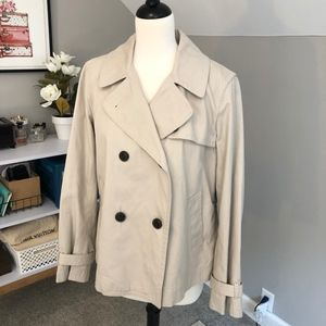 Gap Cropped Trench Coat